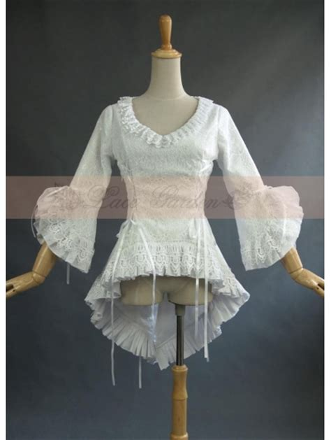 Bloomings Jumbo Ribbon Hitam Blouse white lace high low blouse for devilnight co uk