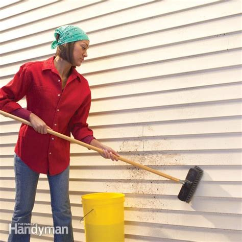 how to clean vinyl siding on house cleaning vinyl siding the family handyman