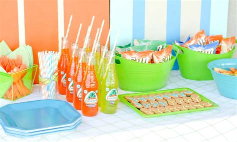pool party ideas kara s party ideas surf s up summer pool party kara s