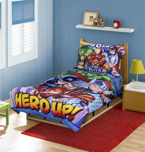superhero bedroom decor superheroes marvel bedding and room decorations modern