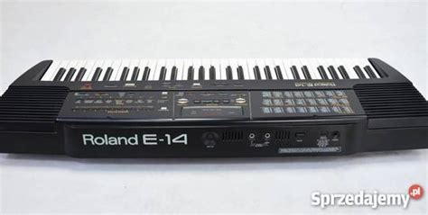 Keyboard Roland E14 keyboard roland e 14 prawdziwy klasyk tarnobrzeg