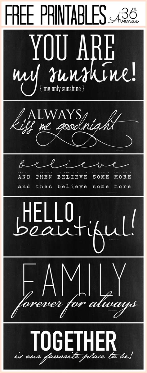 printable chalk fonts free fonts and printable combinations the 36th avenue