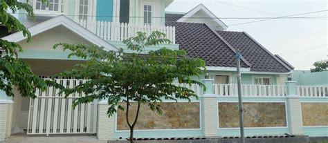 gambar  desain pagar rumah minimalis terbaik tembok