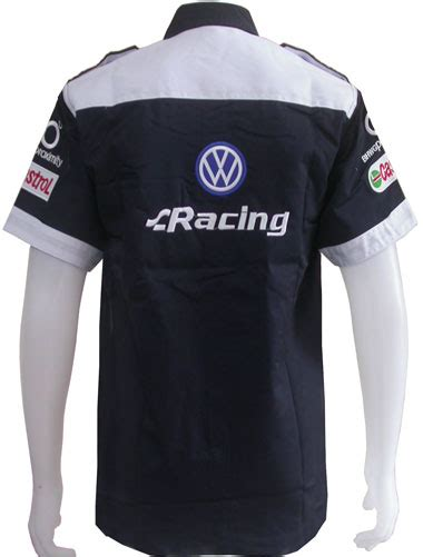 Polo Shirt Vw Racing msvw7101 volkswagen vw racing team pit shirt m l xl car motorcycle racing team shirts