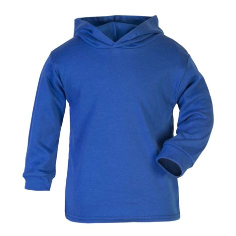 Hoodie Blue royal blue cotton hoodie by wholesale clothing