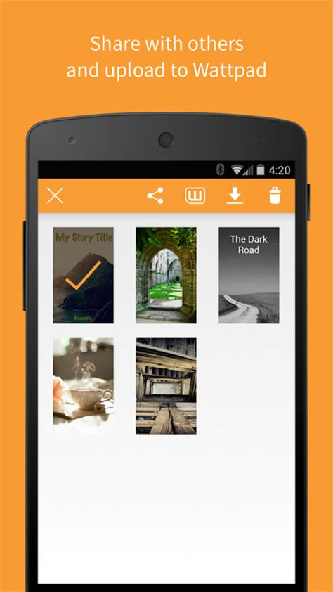 wattpad apk for android covers by wattpad apk free photography android app appraw