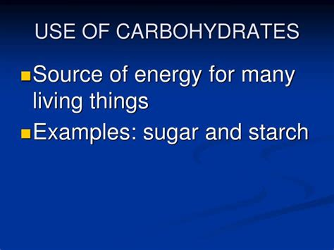 carbohydrates use in ppt the chemistry of powerpoint presentation id