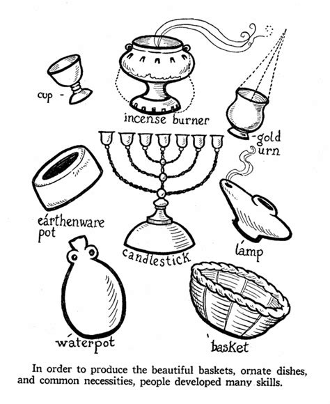 coloring pages household objects coloring pages household items kids coloring page gallery
