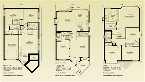 Residential Home Floor Plans Floor Plans Rockland Heights Of Latourette Detached