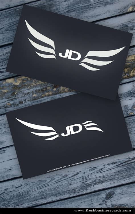 Wings Business Cards