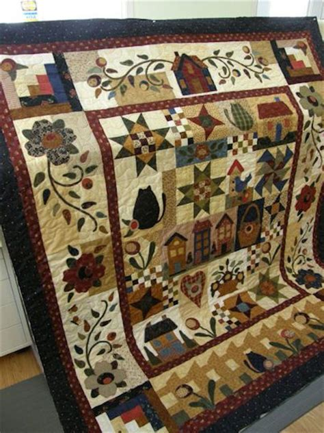 Rosewood Cottage Quilt Pattern by The World S Catalog Of Ideas