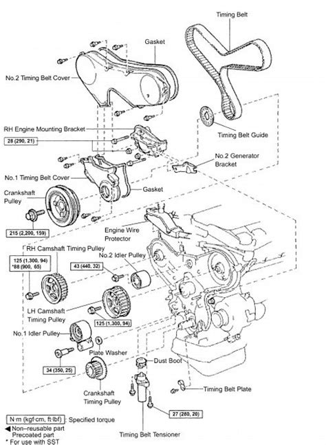6871 Soket Ckp Crankshaft Sensor Toyota Grand New Avanza diy timing belt replacement toyota mzfe engine camry v6 avalon lexus es 300 lexus
