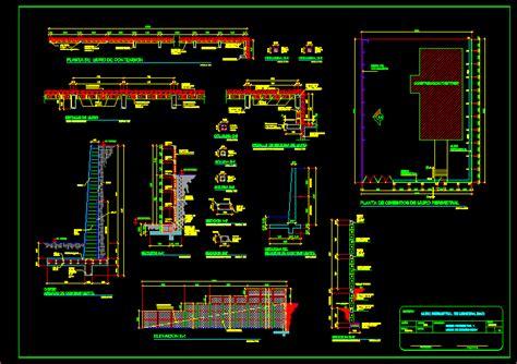 retaining wall design dwg block  autocad designs cad