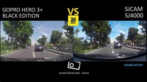 Sjcam Di Jogja gopro 3 black vs sjcam sj4000