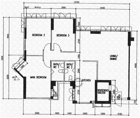 floor plan hdb floor plans for cantonment close hdb details srx property
