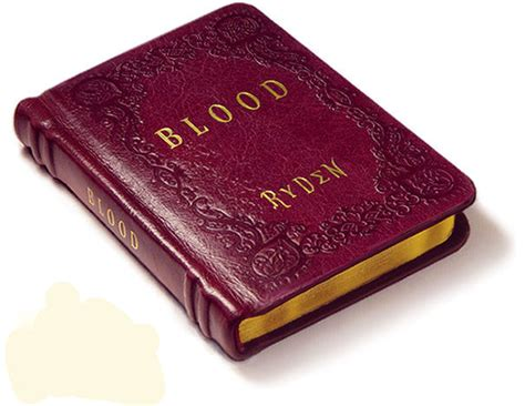 bloody book blood special edition exhibition book set ryden