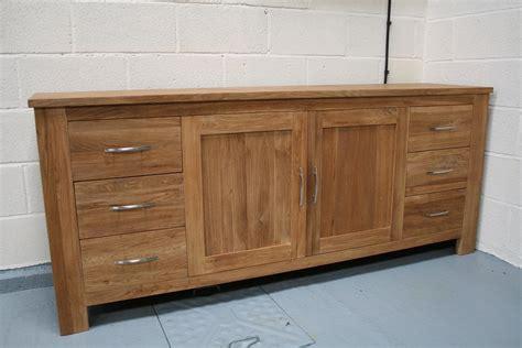 Large Solid Oak Sideboard oak sideboard solid oak sideboards oak dresser units cabinets