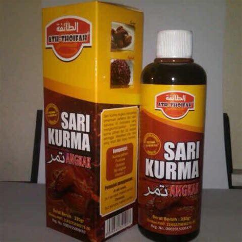 Ath Thoifah Sari Kurma Angkak distributor quot jual grosir eceran quot sari kurma tamr plus