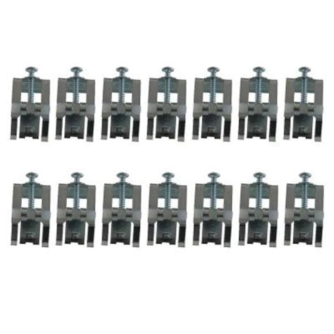 bathtub clips mounting culinaire mounting clip kit 14 pack 790772 0070a the