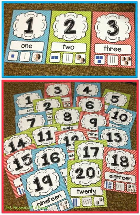 printable number posters 1 20 27 classroom poster sets free and fantastic teach junkie