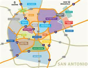 map of san antonio and surrounding area community information affordable houses for sale in san