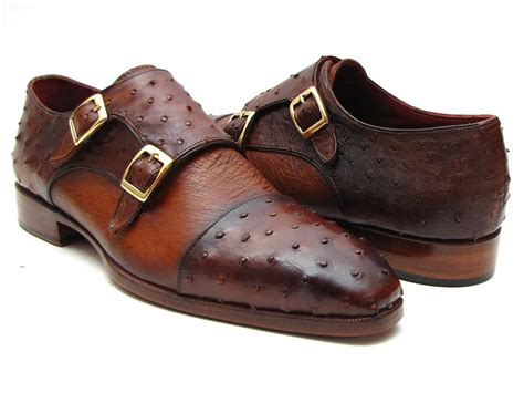 loafer ayakkabi paul parkman brown tobacco genuine ostrich