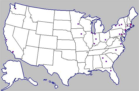 america map unlabeled unlabeled us map