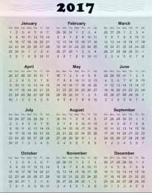 2017 yearly calendar printable calendar template