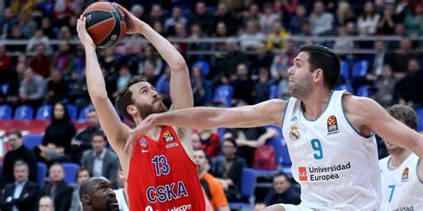entradas real madrid baloncesto euroliga cska vs real madrid baloncesto historia de la euroliga