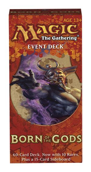 Intro Pack Born Of The Gods born of the gods event deck magic products 187 intro packs decks carta magica