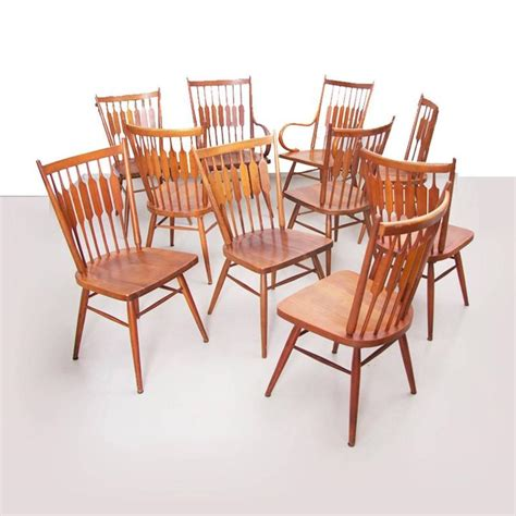 drexel dining room chairs set of ten kipp stewart for drexel quot centennial quot chairs for