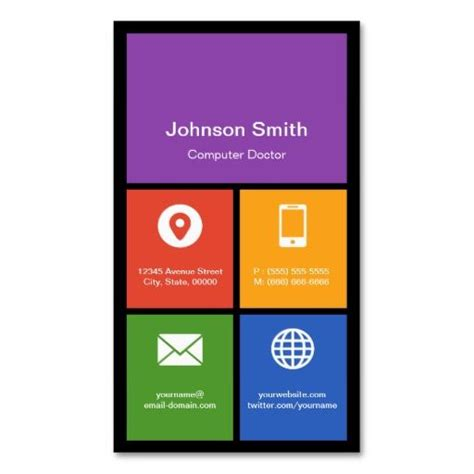 computer business cards templates free 149 best computer repair business cards images on