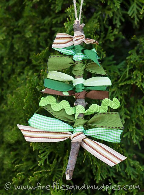 easy ribbon christmas tree ornaments 12 ornaments can make our three peas