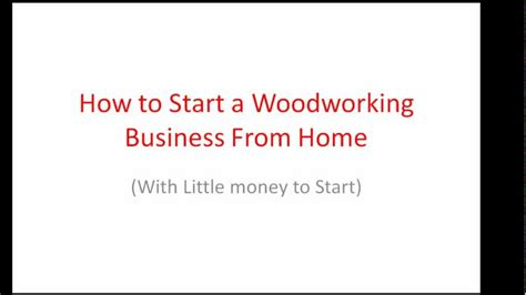 starting woodworking business how to build starting a woodworking business pdf plans