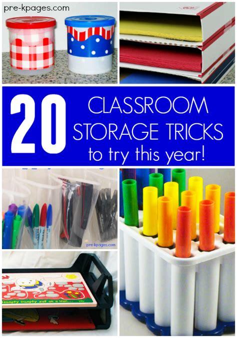 Folder Desk 20 Classroom Storage Ideas