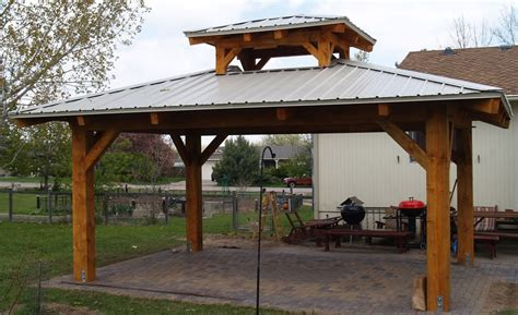 Greenhouse Shed Designs timber frame patio pavilion brewster timber frame company