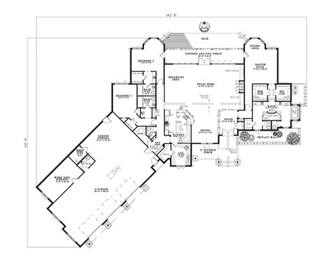 floor plans for luxury homes oriole point rustic luxury home plan 055s 0119 house