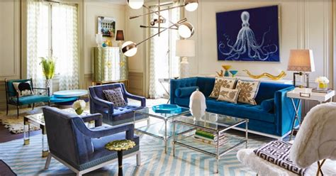10 Breathtaking Blue Sofa Designs For This Summer Home Blue Sofa Living Room Design