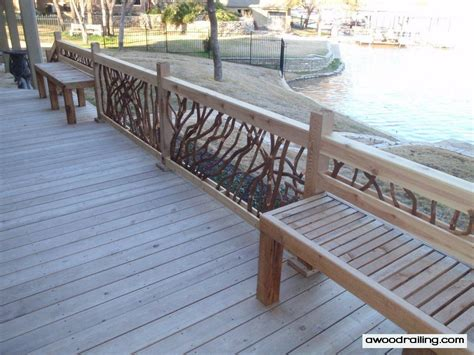 deck railing with bench seating laurel railing with built in bench seating deck railing