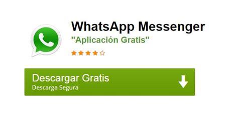 descargar whatsapp bajar whatsapp messenger gratis