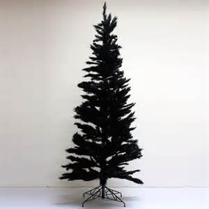 slimline black christmas tree ten and a half thousand things