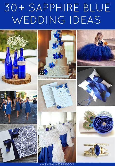 30  Gorgeous Sapphire Blue Wedding Ideas   http