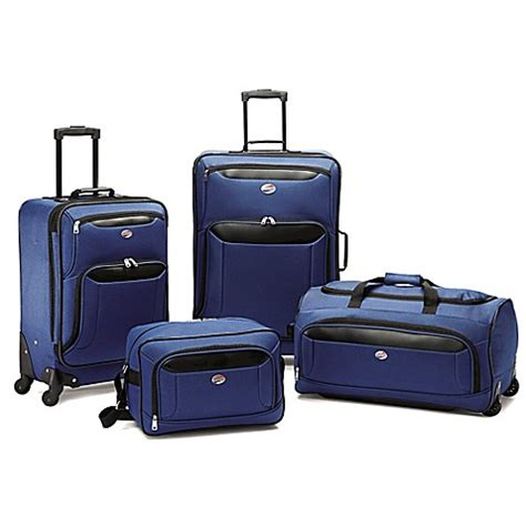 bed bath and beyond luggage american tourister 174 brookfield luggage set bed bath beyond