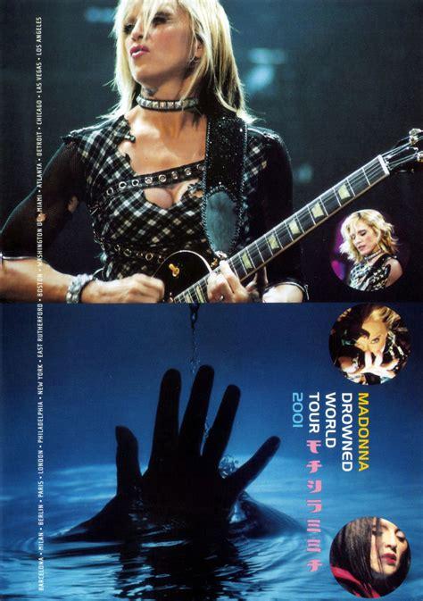 Dvd Madonna Drowned World Tour 2001 Car 225 Tula Interior Frontal De Madonna Drowned World Tour