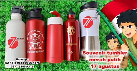 Tempat Botol Sepeda Murah Warna Merah jual souvenir tumbler merah putih souvenir 17 agustus