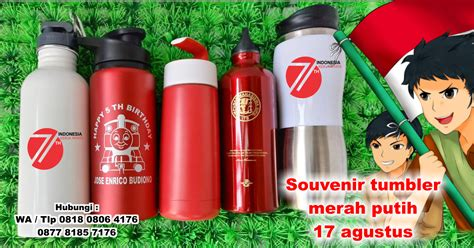 Souvenir Tumbler Sovenir Tumbler Botol Minum Souvenir Jual Souvenir Tumbler Merah Putih Souvenir 17 Agustus