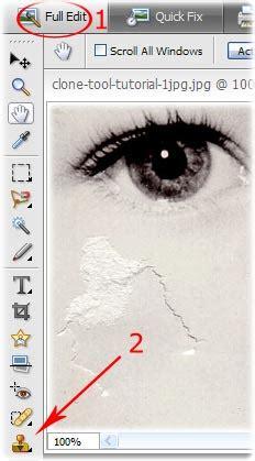 tutorial video repair tool repair photos using photoshop s clone st tool how to