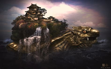 dragon castle wallpapers hd wallpapers id