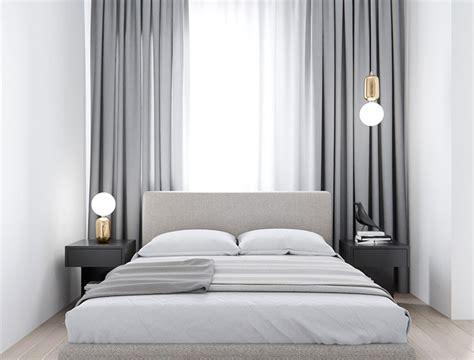 tende  camere da letto moderne  modelli  design