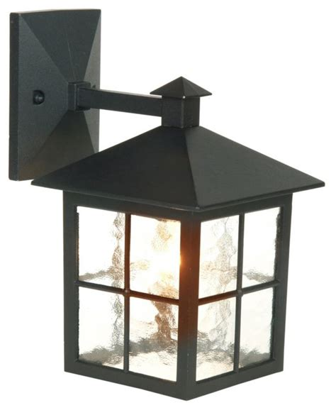 Lights By B Q Maine Outdoor Wall Light In Black Wall Light B Q Kitchen Lights